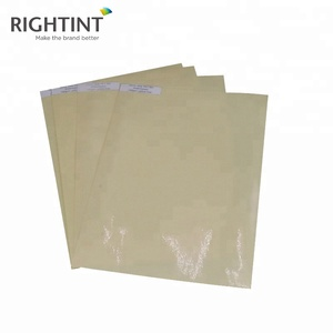 Optically Clear Self Adhesive Pet Film For Uv Offset Printing