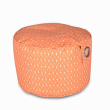 2019 Wholesale Colorful Indoor Beanbag Pouf Seating Cover Foot Stool Ottoman