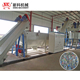 Waste plastic recycling line PET bottle flakes crushing washing production line