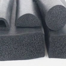 foam rubber seal strip / square rubber sponge profile