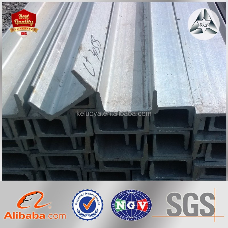 Drywall Metal Stud Track Cold Rolled Steel U Channel size 40-400mm*25-200mm*1.5-3.5mm