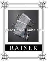 2012 Fashion Garment Packaging EVA Ziplock Bag With Hanger