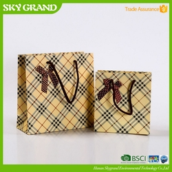 Modern professional advertising gift packing paper bags