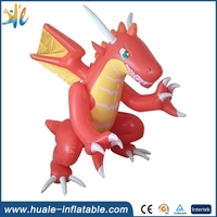 hot sale advertising inflatable dragon with new design