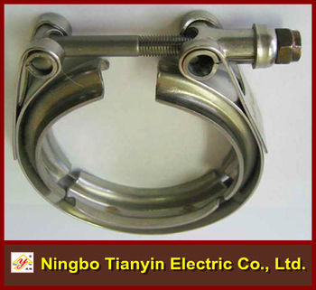 High Duty V Type Hose Clamp