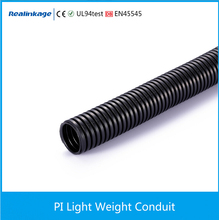 PI PA PR light weight flexible conduit corrugated pipe