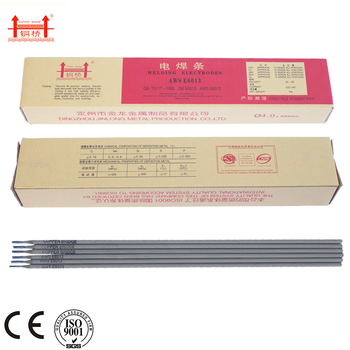 BRIDGE BRAND low carbon steel mild steel welding rods e6013