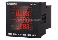 three phase thd harmonic digital panel power meter with rs485 modbus PMC180