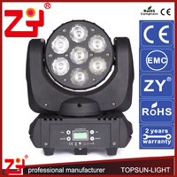 RGBW 4IN1 seven star light TS-moving head-01 7 channels disco lighting china
