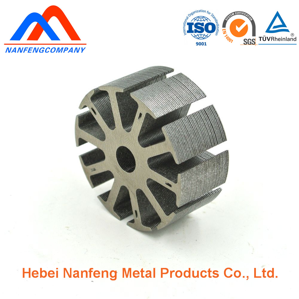 Top Quality Armature Winding Stator Rotor, Engine Motor Rotor Stator, Custom Stamping Parts for Motor Hardware
