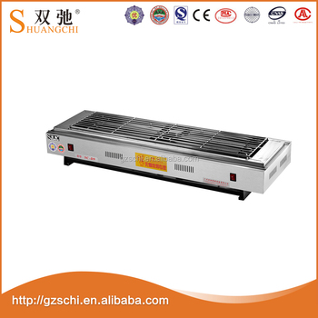 SC-D99 Commercial Spraying Easily Cleaned Electric BBQ Grill