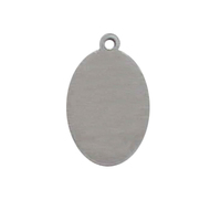 Fashionable stainless steel dog tag/zinc alloy pendent