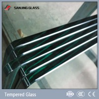 Tempered Glass 6mm Clear Plate Glass