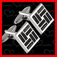 2016 High End jewelry Silver Cufflinks for Men made in China factory
