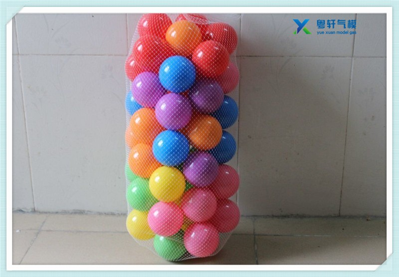 Hot-selling 7cm Multi-coloured Plastic ball pit play ball for fun