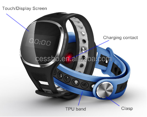 Android Mobile phone smart watch, pedometer smart watch connect with phone
