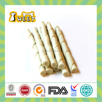 "5"" 10g-12g Best Deal Wholesale Bulk Dog Treats Chews Rawhid Free Twist Stick White Pet Natural"