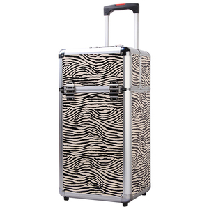 Professional makeup holders trolley beauty jewelry case
