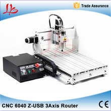 Newest!3d stone sculpture machine 6040Z-USB ,china USB Port CNC engraver,marble headstone engraving machine