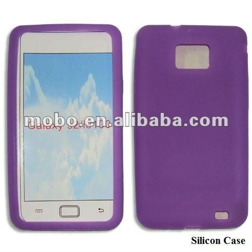 Silicone case for Samsung i9100