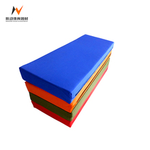 Gymnastics extra large exercise equipment folding thick tumbling mats for sale