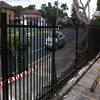 Ornamental Powder Coated Galvanized Wrought Iron
