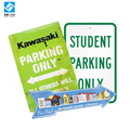 Cheap Custom Durable Metal Park Sign Board NO Parking Sign Tin Direction Sign