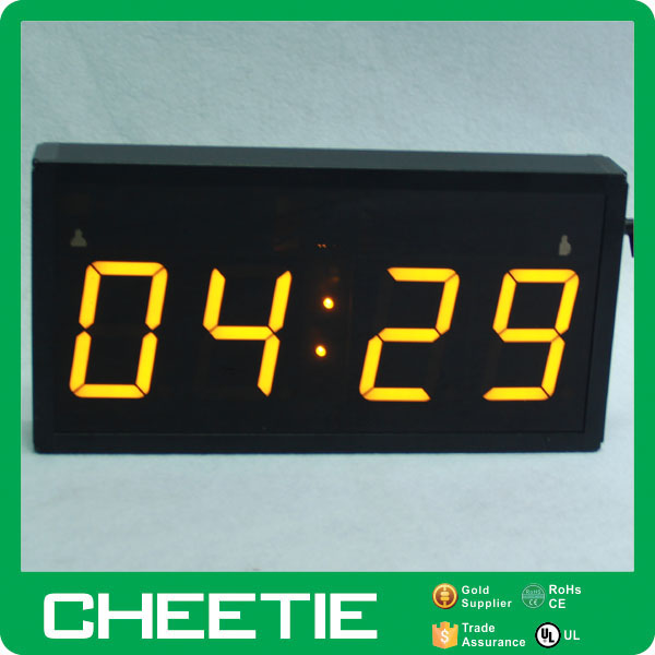 Digital Table Clock LED Display Bedside Desktop Timer Counter
