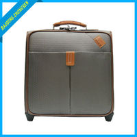 Customized New Design 16 inch spinner pilot luggage