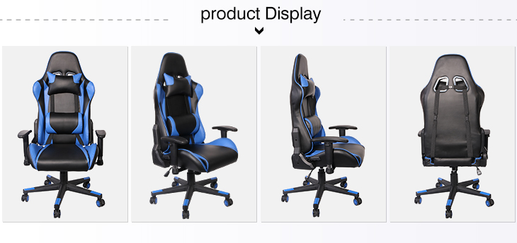 Blue Wholesale Car Seat Office Gaming Chair Computer Game Chair for Gamer