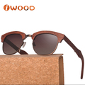Fashionable No MOQ Polarized wooden Foldable Sunglasses dropshipping