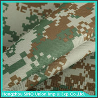 camo prints outdoor military camping tents material 100 poly with PVC coated oxford fabric d600 waterproof