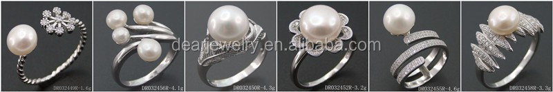 Fresh Pearl Pendant 925 Sterling Silver Jewelry Women Gifts Designs DR032576P