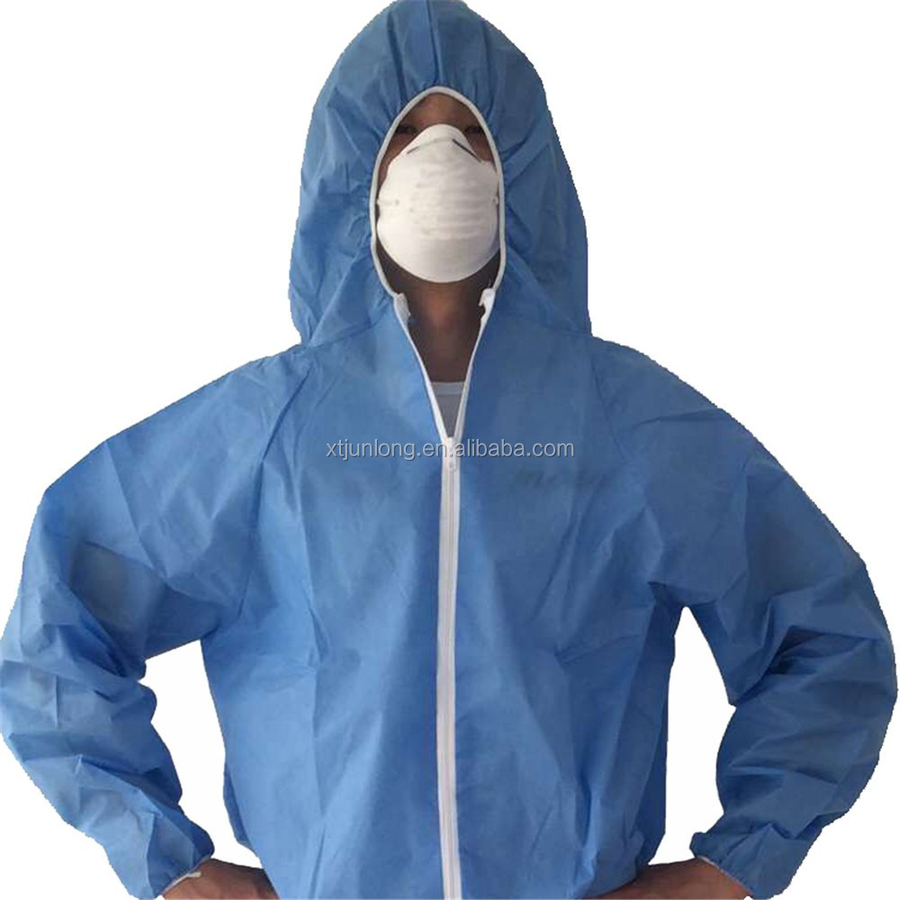 Personal protective equipment disposable cheap coveralls suits