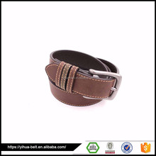 high quality Casual style belts man,flat belts for male