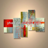 Modern popular decorative handmade abstract outdoor acrylic painting