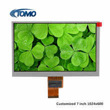 7 inch 1024x768 40pin lvds interface tft lcd module with capacitive touch screen