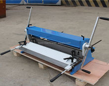 factory supply 3-in-1 1016 Manual Combination of Shear Brake and Roll Machine