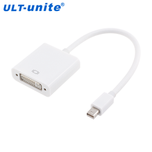 Mini DP DisplayPort Male to DVI Female Converter Adapter Cable