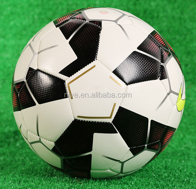 official size 5 stock Cheap football / Soccer Balls