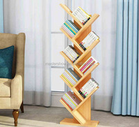 New Design Wooden Book Display Stand / Wooden Office Furniture