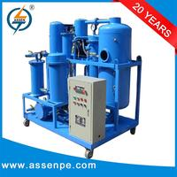 Complete in specifications hydraulic oil filtration machine