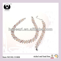 Freshwater Pearl Neklace Fashion Jewellery Set