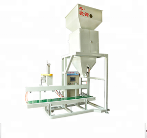 rice corn beans filling woven bag pellet packing machine