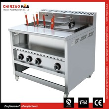 Automatic Gas Noodle Cooker With Bain Marie Pasta cooker
