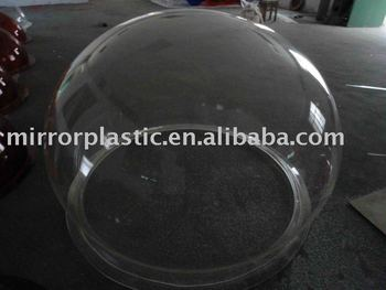 large plexiglass ball