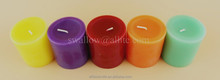 Hot sale cheap citronella anti mosquito candle/candle packaging
