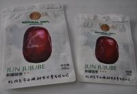 Popular biodegradable zipper packaging bags for dried fruit food
