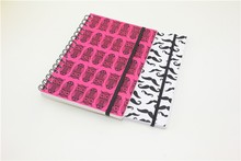 PP spiral sketch book with divider personal writing notebook with different style