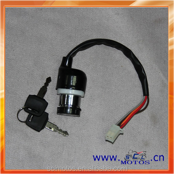Motorcycle Ignition Key Switch for SUZUKI GN125 SCL-2013040729
